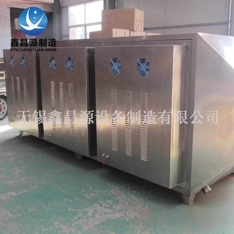 VOC气体处理-活性炭光解箱